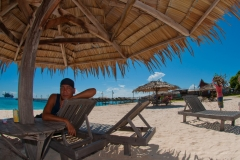 Borneo diver resort beach front