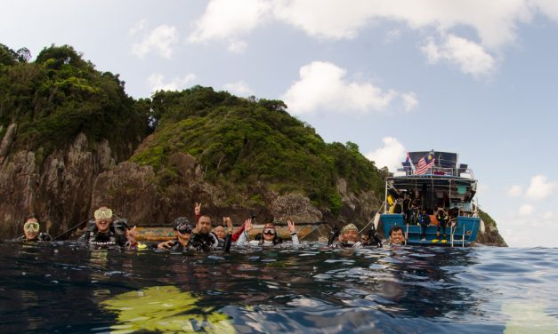 Tioman Island 3 Days/3 Nights Live-aboard Dive Package