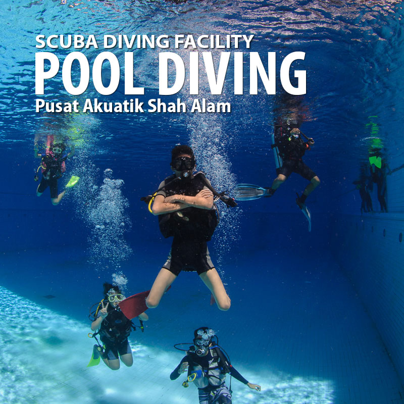 Pool scuba dive booking & gear rental