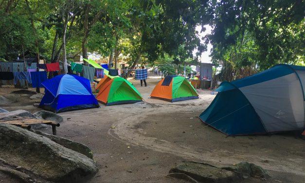 Teluk Keke campsite. Experience Perhentian eco-living