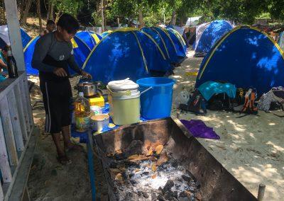 Teluk Keke Campsite Facilities